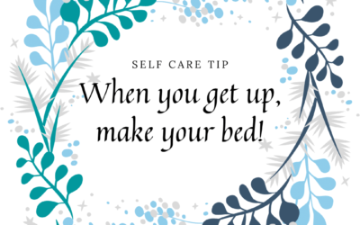 It's the little things – Make your bed