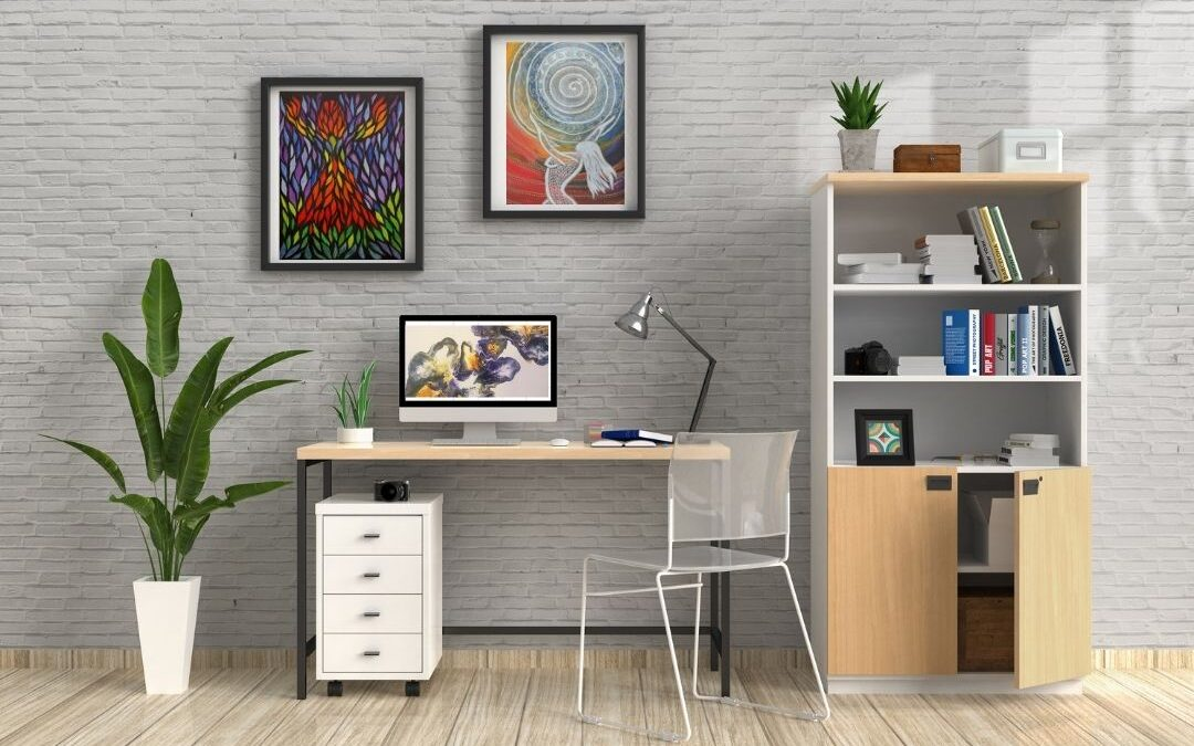 Three reasons why it is good to have art in your home office