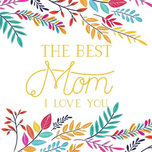 Best Mum Greeting Card