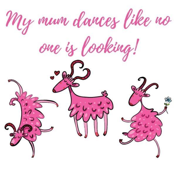 Dancing Goats mum card