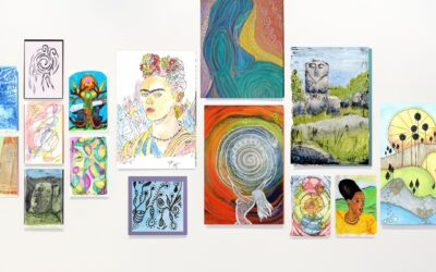 A Gallery Wall – A simple idea to display your favourite art.